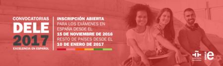 Fechas examen DELE y CCSE 2017