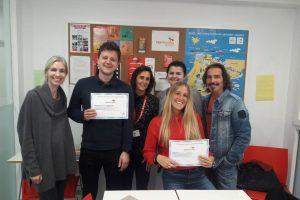 Certificados de estudiantes